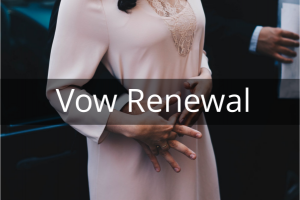 Vow Renewal - Unique Personalised Ceremonies